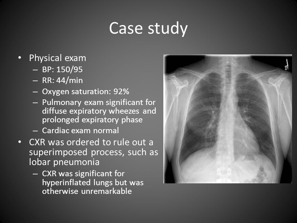 Case study Physical exam