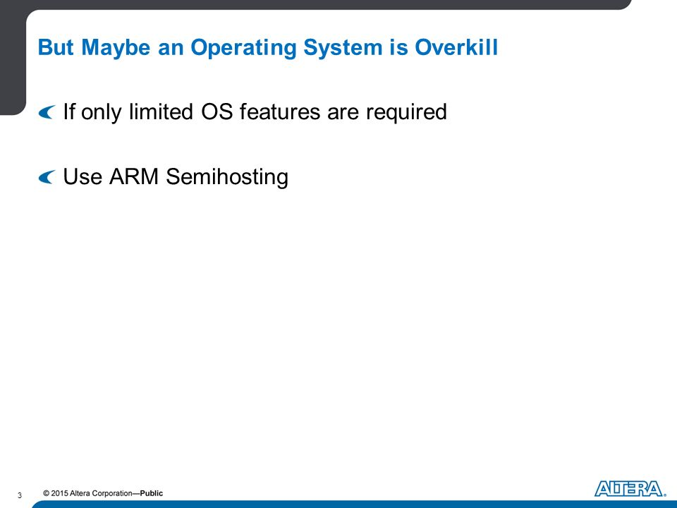 writing an operating system for arm
