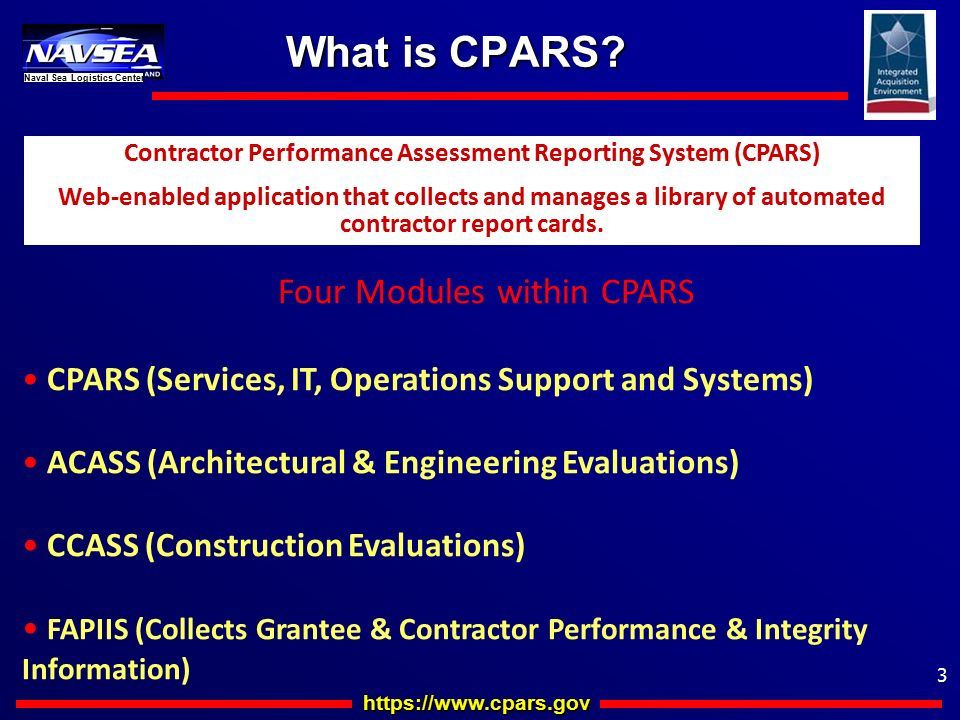 CPARS & Quality Writing Training - ppt download