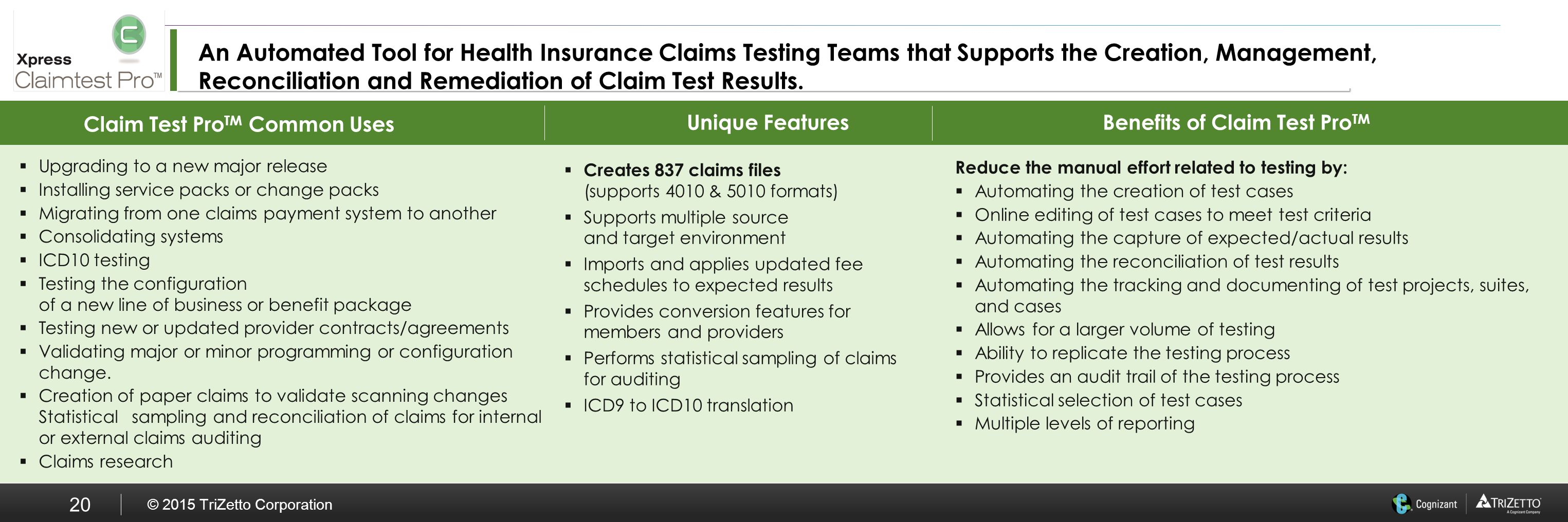 Enterprise wide testing solutions ppt download 20 benefits 1betcityfo Gallery