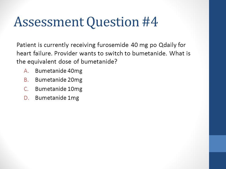 Assessment Question #4
