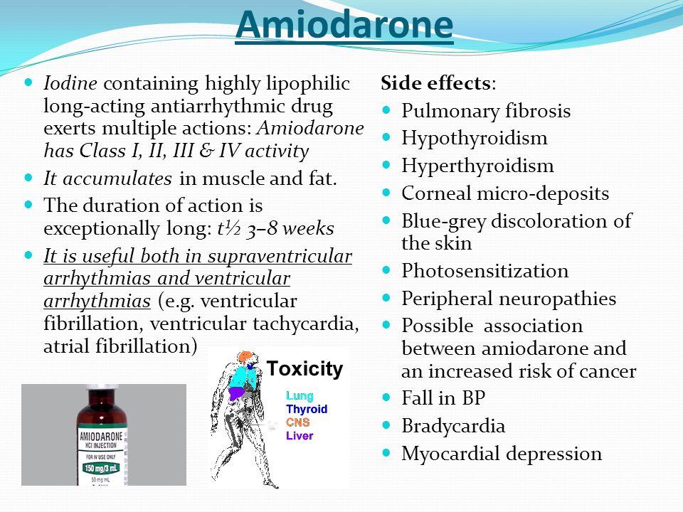 Cordarone Amiodarone Side Effects