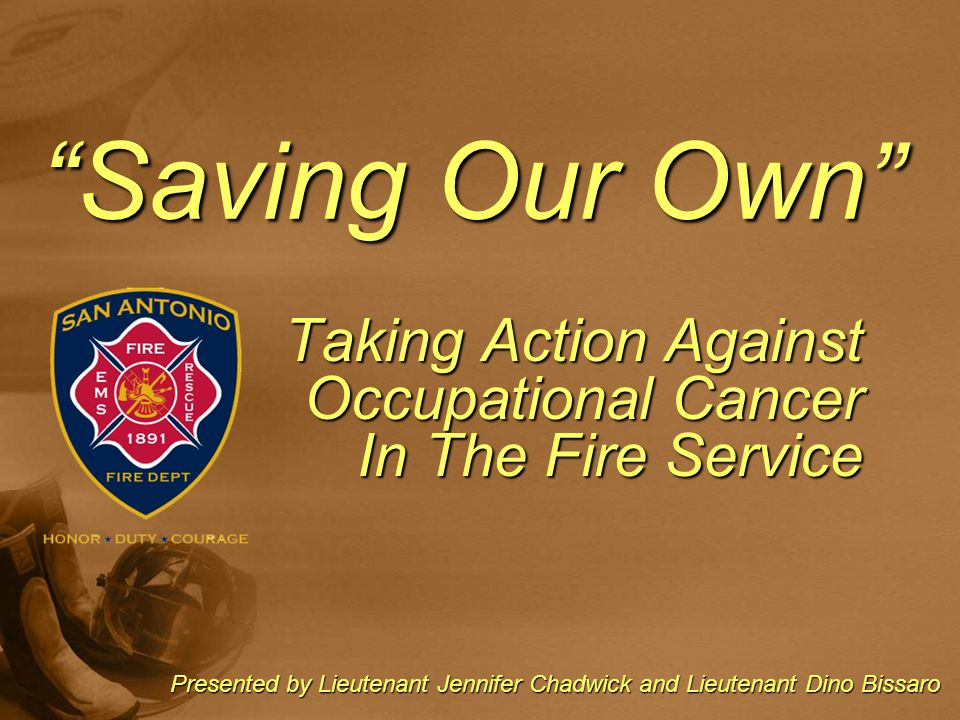 Taking Action Against Occupational Cancer In The Fire Service