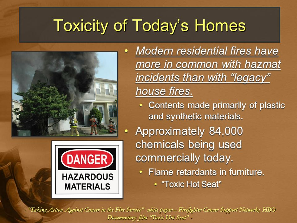 Toxicity of Today's Homes