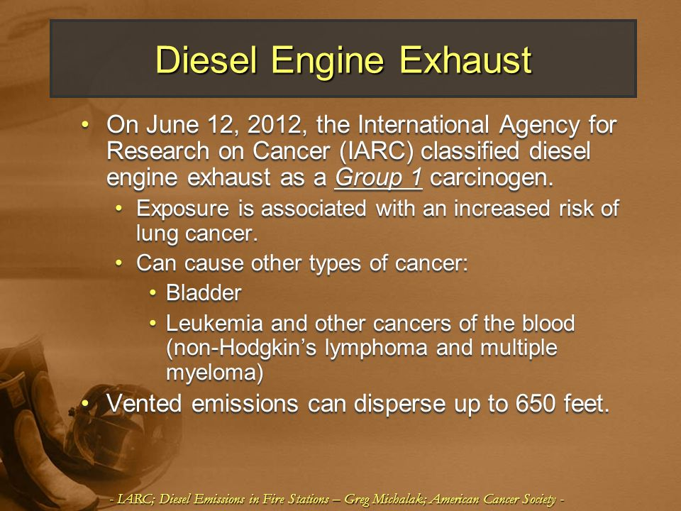 Diesel Engine Exhaust