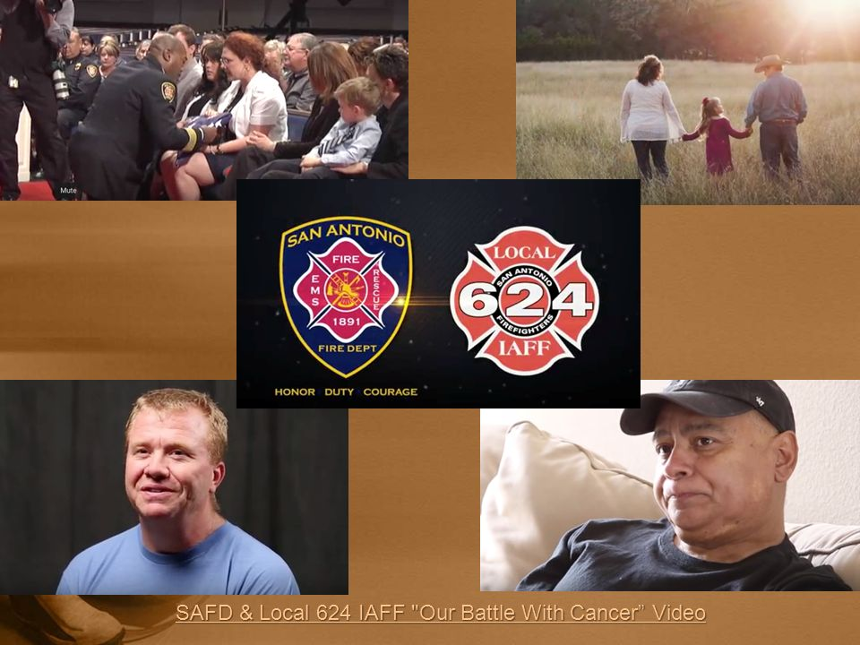 SAFD & Local 624 IAFF Our Battle With Cancer Video