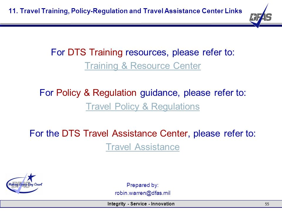 DTS Postpay Review Examples of Common Errors FY10 ppt video – Dts Travel Worksheet