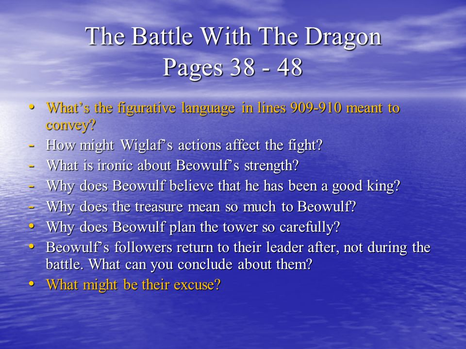 describe the relationship between beowulf and unferth