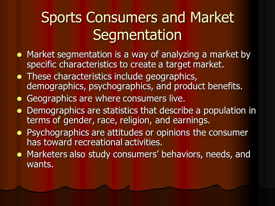 """target market segmentation soccer Nike segmentation and targeting nike is unique in the fact that they have a very general targeted demographic segment –their stated target market is """"all athletes""""."""