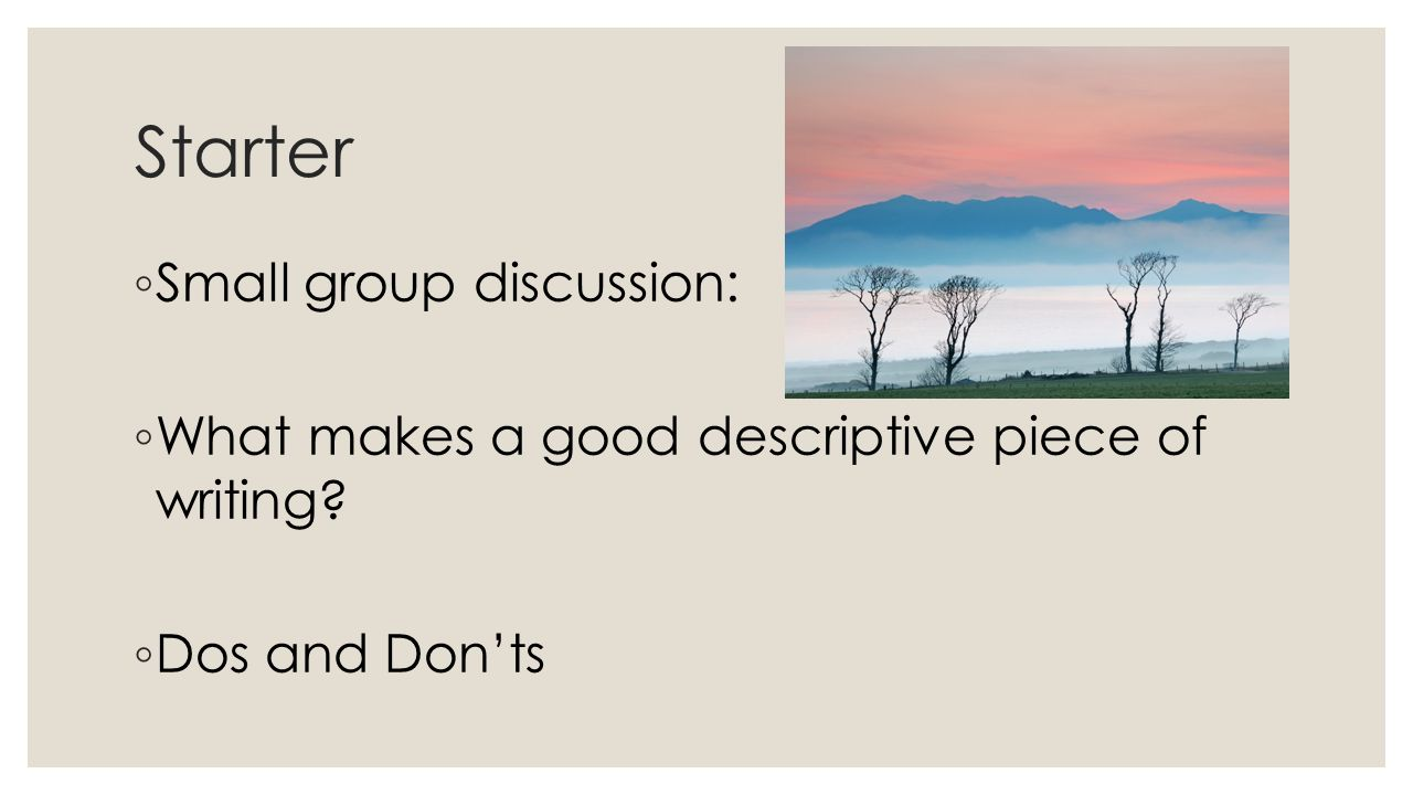 essay group discussion
