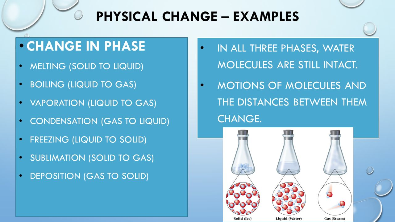 Physical & Chemical Changes - ppt video online download
