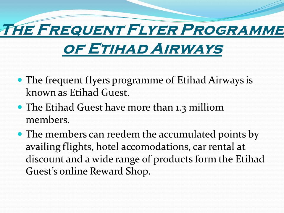 etihad airways marketing plan Collect miles and rewards on flights or purchases with etihad guest enjoy travel benefits such as lounge access, excess baggage allowance and much more.