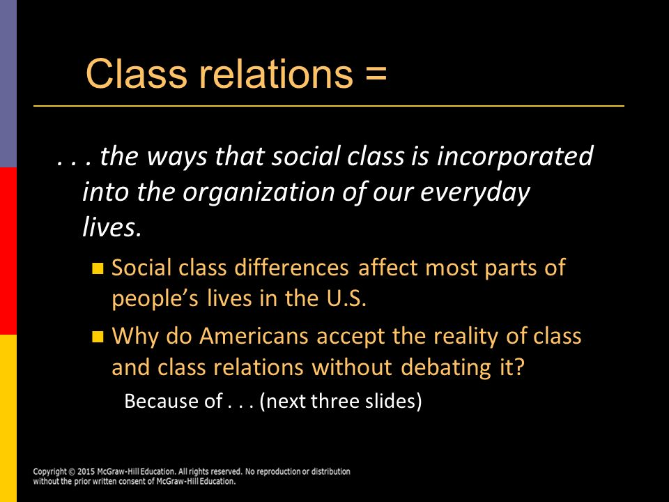 Social class still determines success