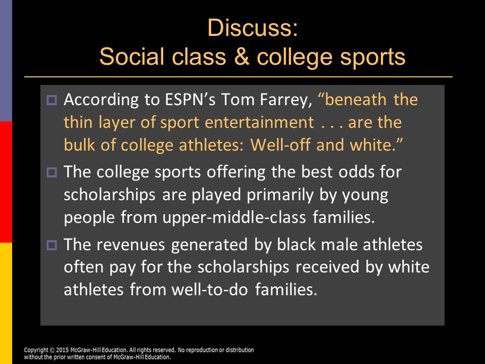 social class with sport Professional sport as a stepping stone to social mobility, providing a potential   would appear to be an indissoluble link between social class, ethnicity and.