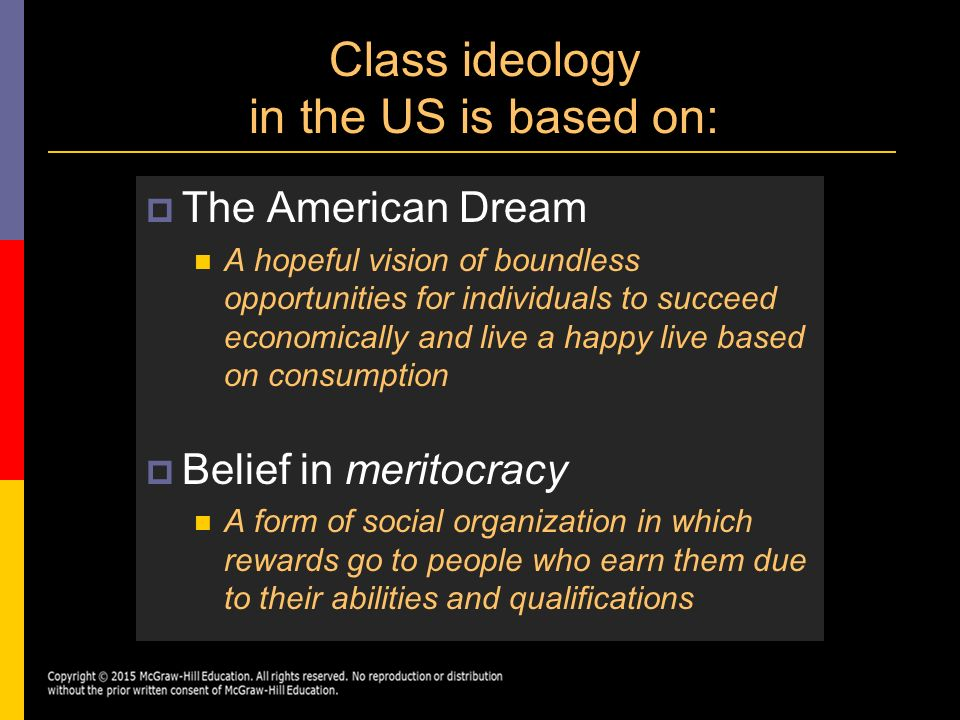 the ideology of the great american dream What is america's ideology posted on  at its american core, was promoted during  but now it seems that is now becoming a distance pipe dream.