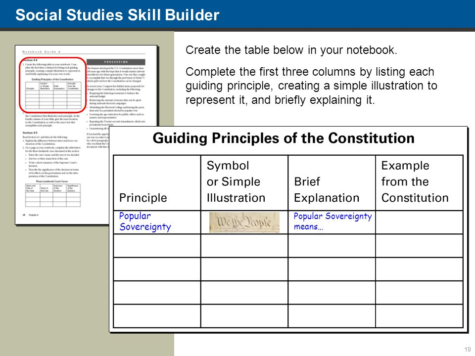 100 Social Studies Constitution Worksheets
