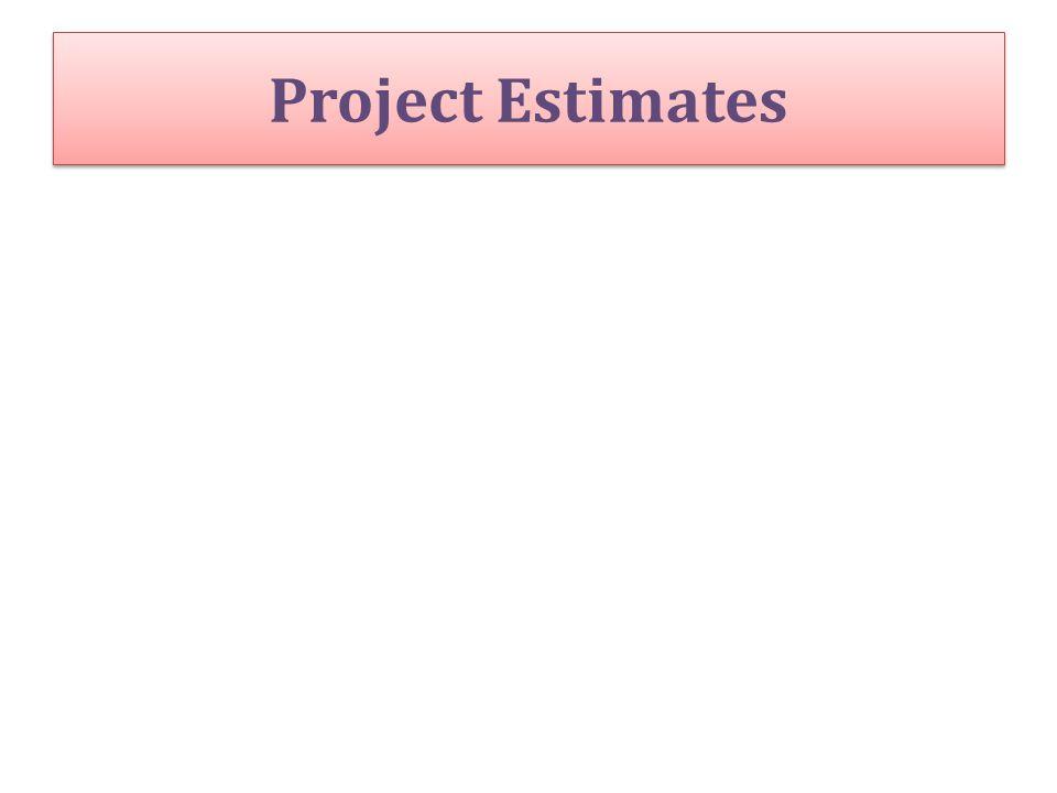 Project Estimates