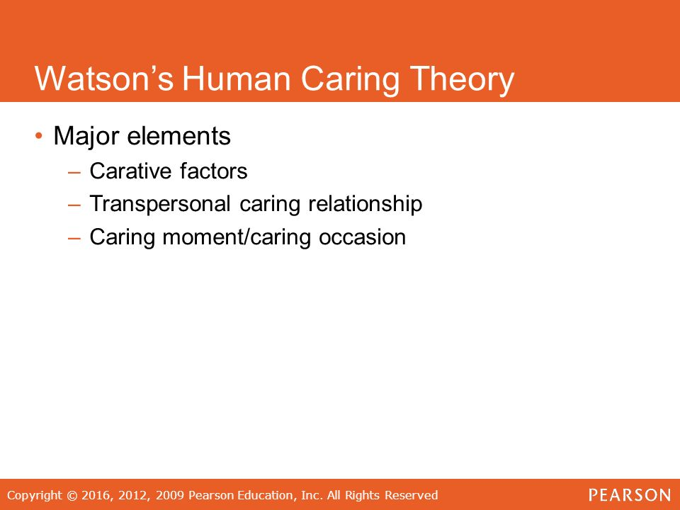knowledge of nursing watsons theory of human caring nursing essay Free essay: watson's theory of human caring or community, care should be rendered to the patient with knowledge the nursing process and watson's theory.
