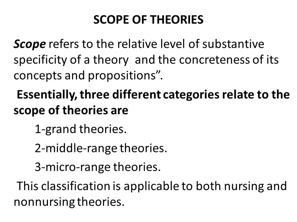 theoretical foundations of nursing Nursing theories, grand theory, middle range theory, original theorists, theories  for  and contemporary theories that are the foundation of nursing practice today.