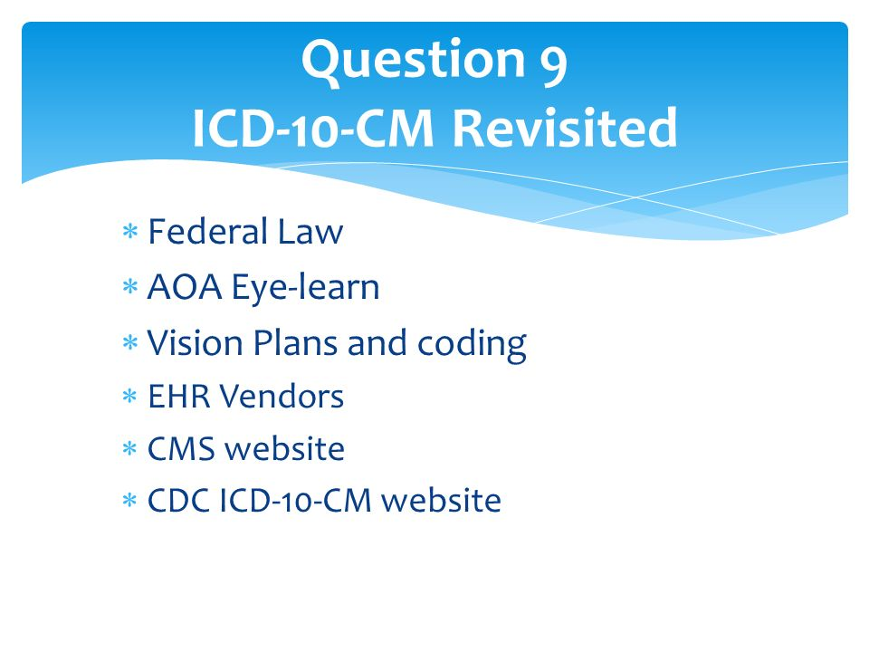 Question Bank For Icd 10