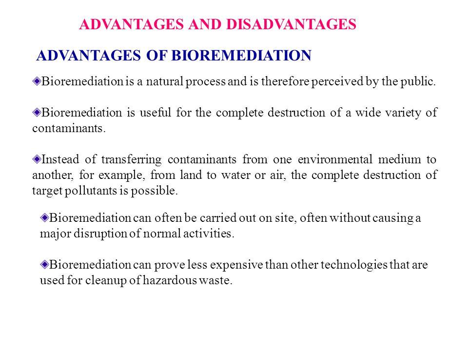 advantages and disadvantages of biotechnology Advantages and disadvantages of high power ultrasound  of food technology  and biotechnology, university of zagreb, zagreb, croatia.