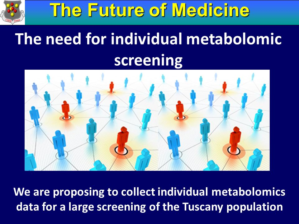 The need for individual metabolomic screening