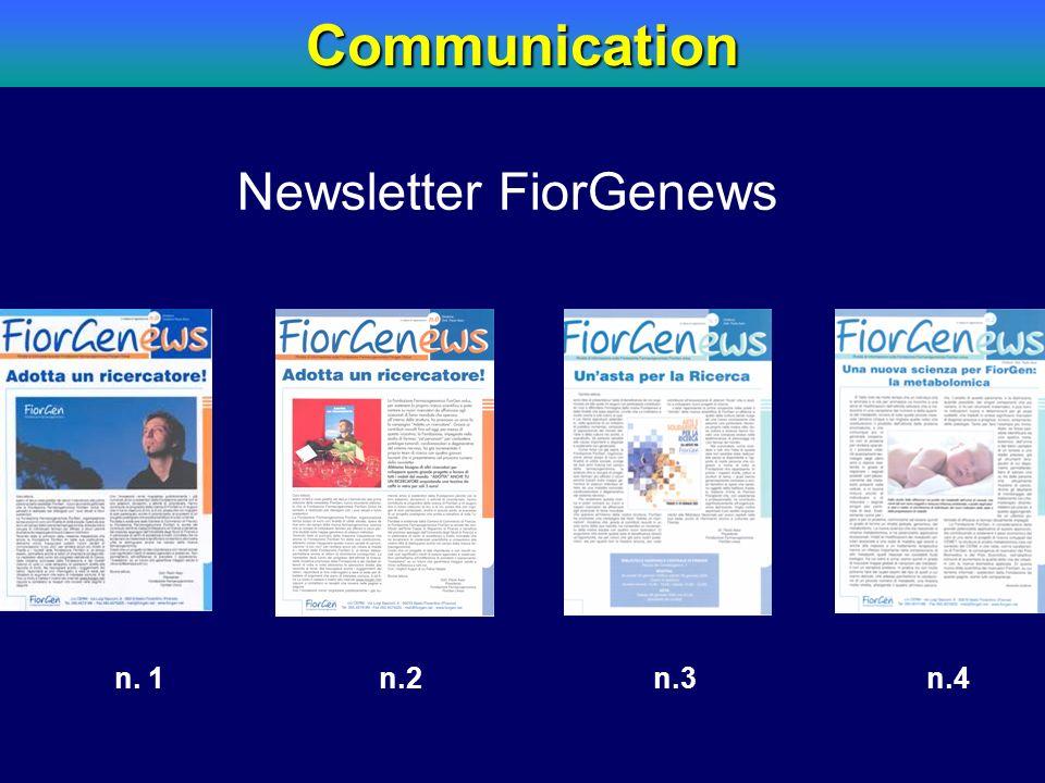 Communication Newsletter FiorGenews. n.