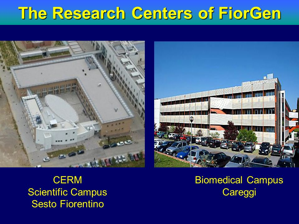 The Research Centers of FiorGen