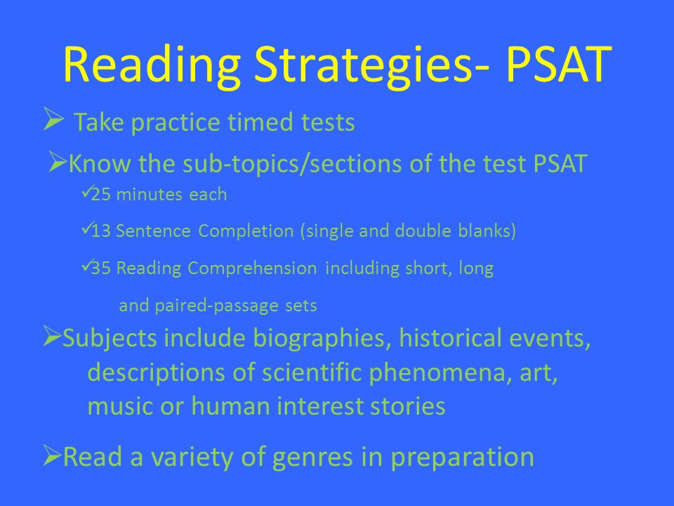 psat reading comprehension practice pdf