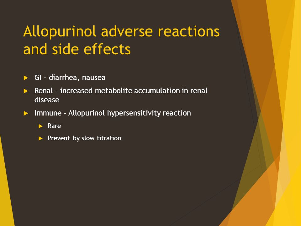 What Are The Side Effects Of Allopurinol