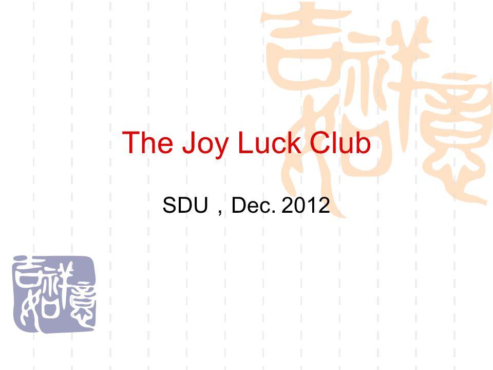 joy luck club theme paper
