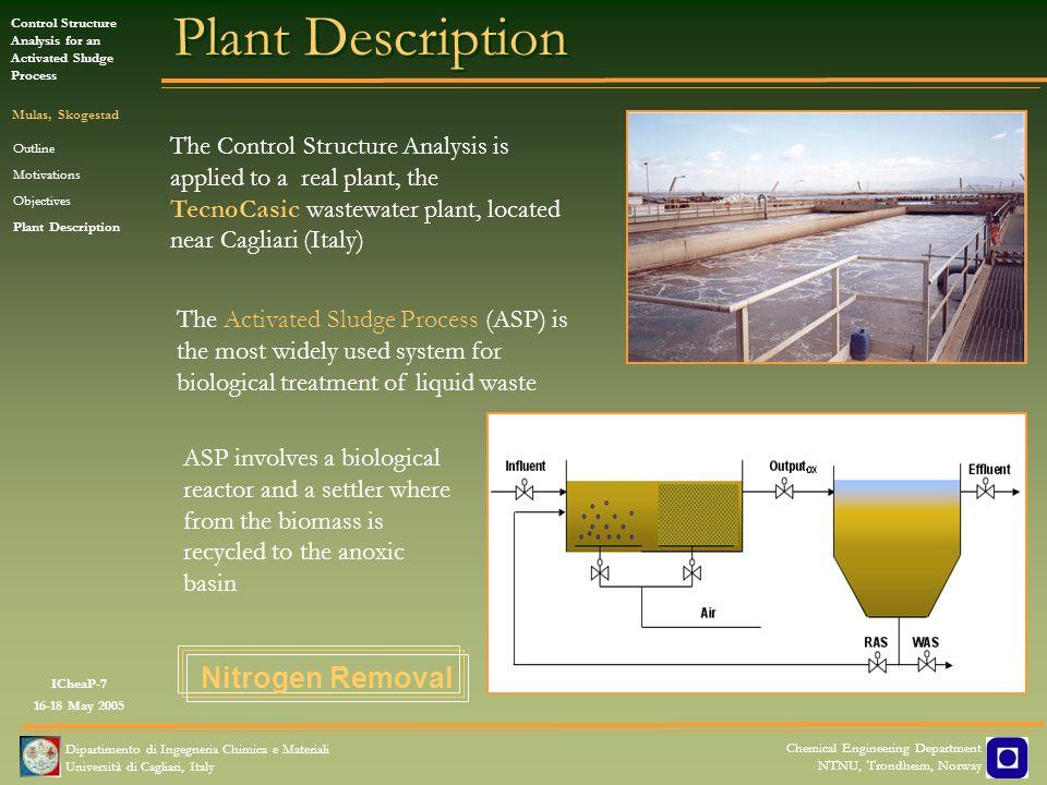 Plant Description Nitrogen Removal