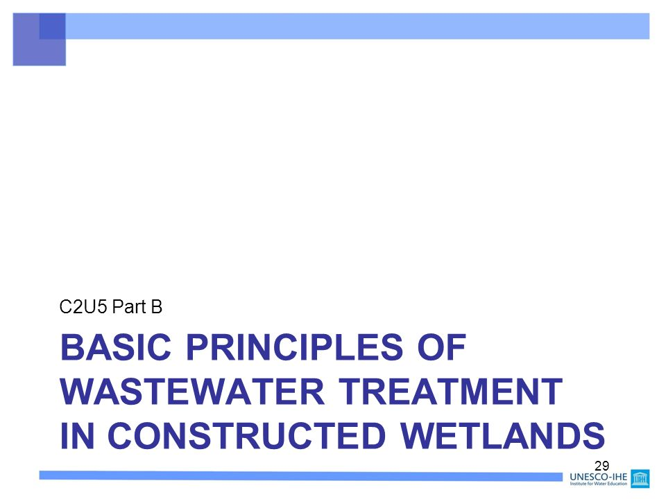 basic wastewater management For sustainable urban water management  this booklet was prepared to introduce the basic concepts of water and wastewater reuse,.