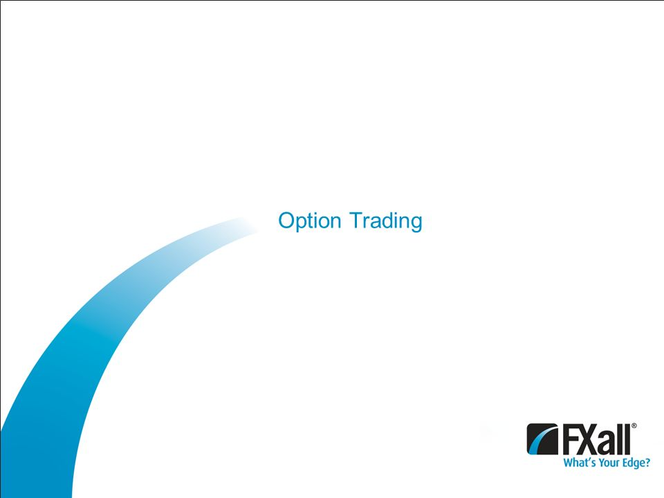 Options trading center