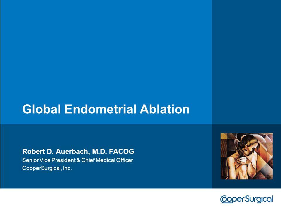 Global Endometrial Ablation