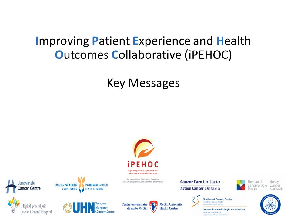 improving patient experience outline