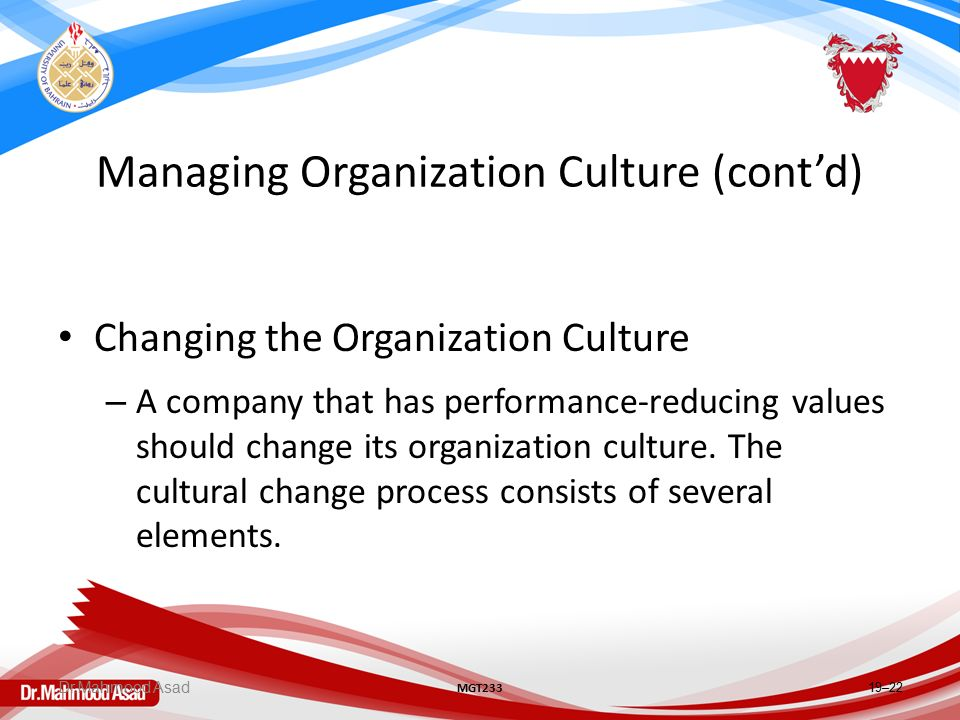 Organization Management - Meaning, Need and its Features