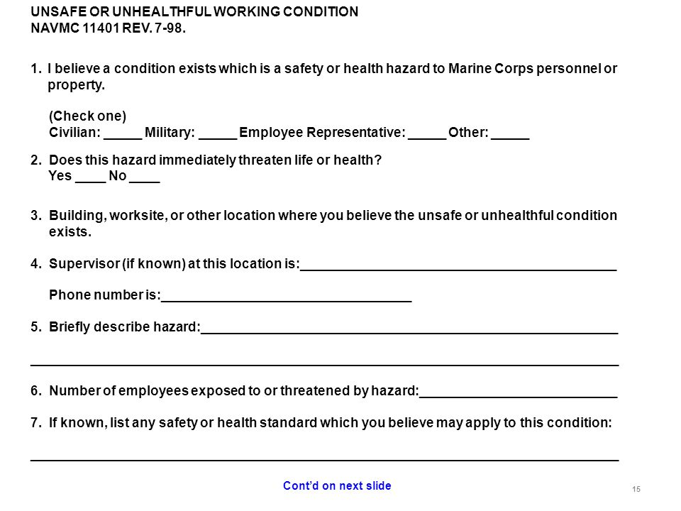 Supervisor Safety Training - ppt download