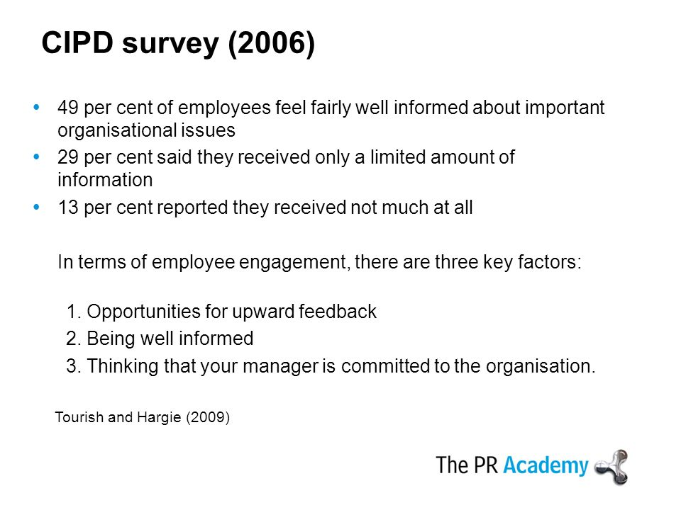 role of communication employee involvement At present the challenge for the vast majority of organisations is how to create high levels of employee engagement and commitmentdecision makers recognise the added value of 'i love my job' (engagement) and 'i love my organisation' (commitment), and the two combine to create the best scenario for both employees and organisations.