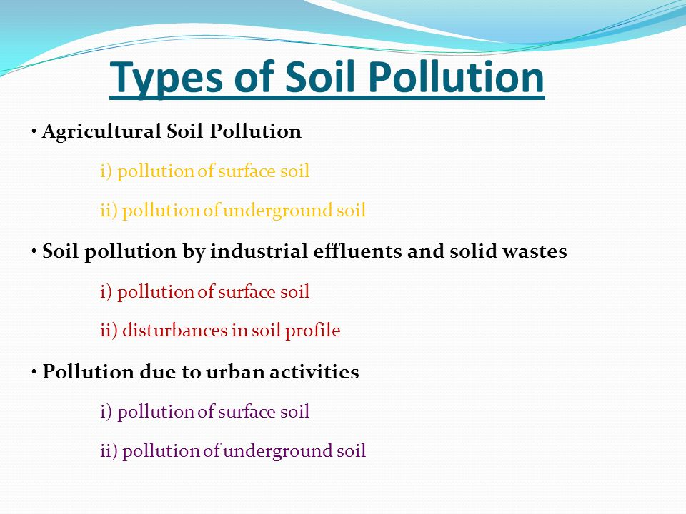 Effects of land pollution on human health essay for Soil resources definition