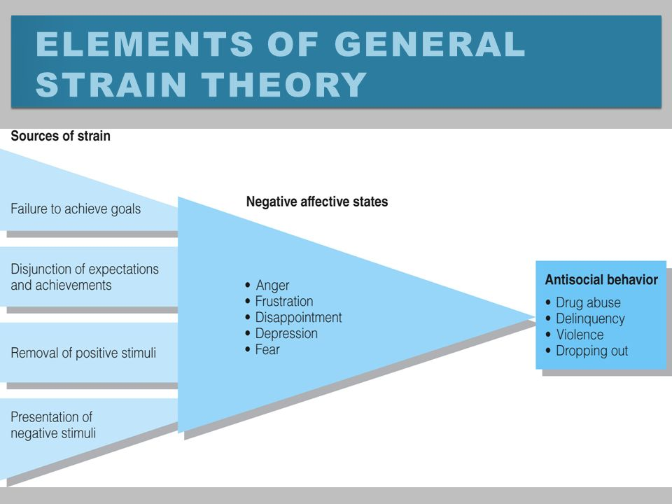agnew s general strain theory