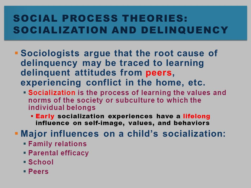 Learning theories influence interpersonal relationships