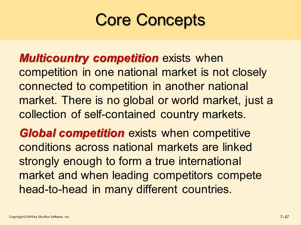 STRATEGY Core Concepts and Analytical Approaches - ppt ...