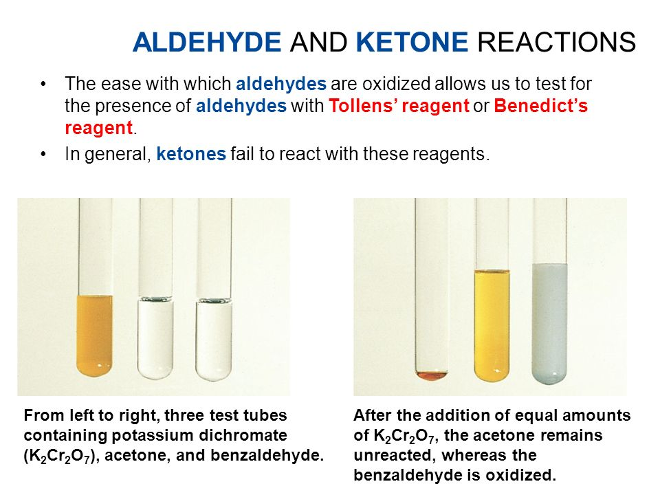 analysis of ketones aldehydes and alcohols Aldehydes and ketones share the carbonyl functional group which features   this situation is similar to that of alcohols and phenols which both share the -oh .