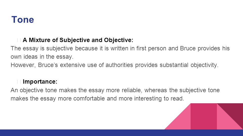 Objective vs. Subjective Writing: Understanding the Difference
