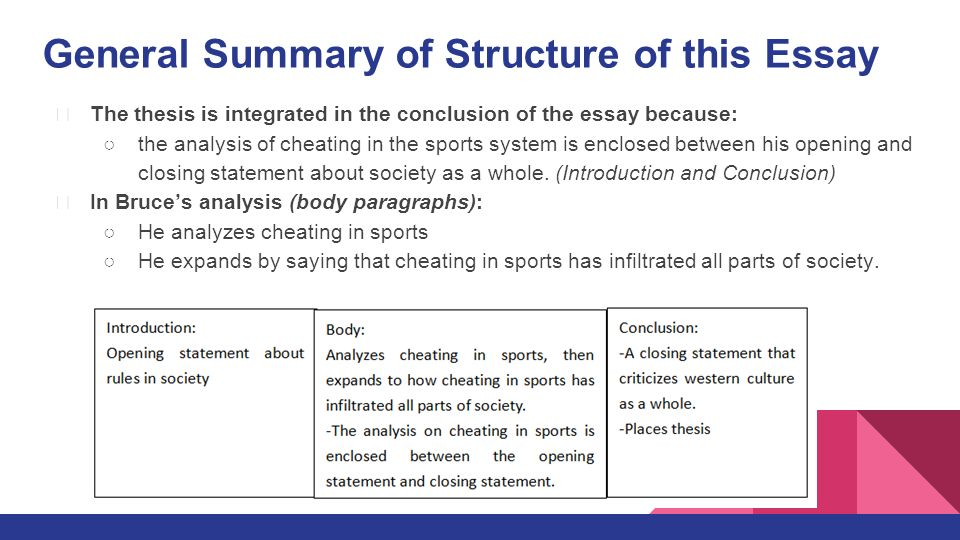 cheating in sports 2 essay