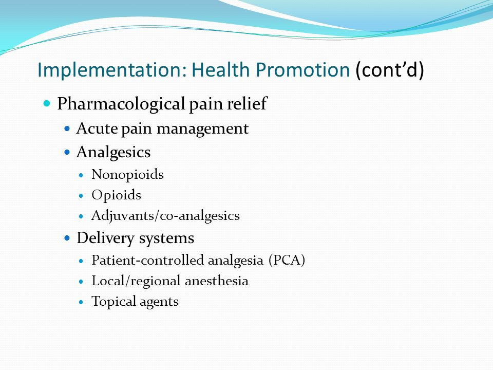implementation of health promotion by nursing implementation methods of health promotion essay