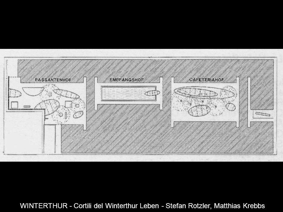 WINTERTHUR - Cortili del Winterthur Leben - Stefan Rotzler, Matthias Krebbs