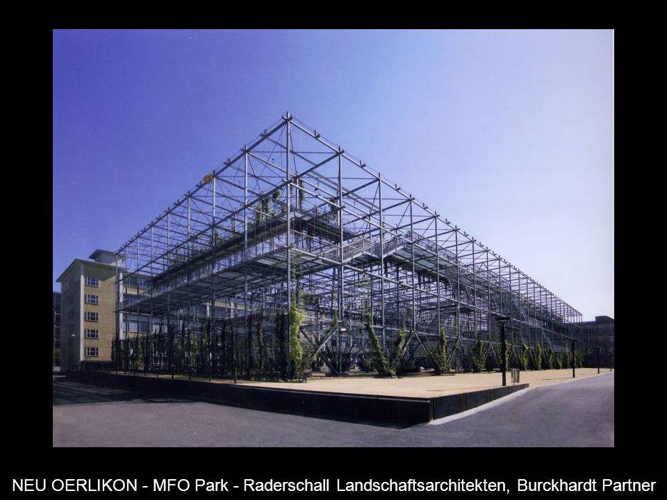 NEU OERLIKON - MFO Park - Raderschall Landschaftsarchitekten, Burckhardt Partner