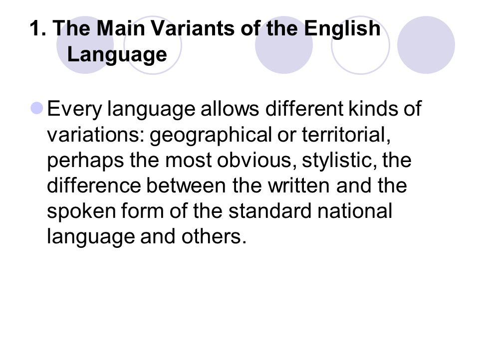 Basic grammatical and lexical-semantic differences between American and British English